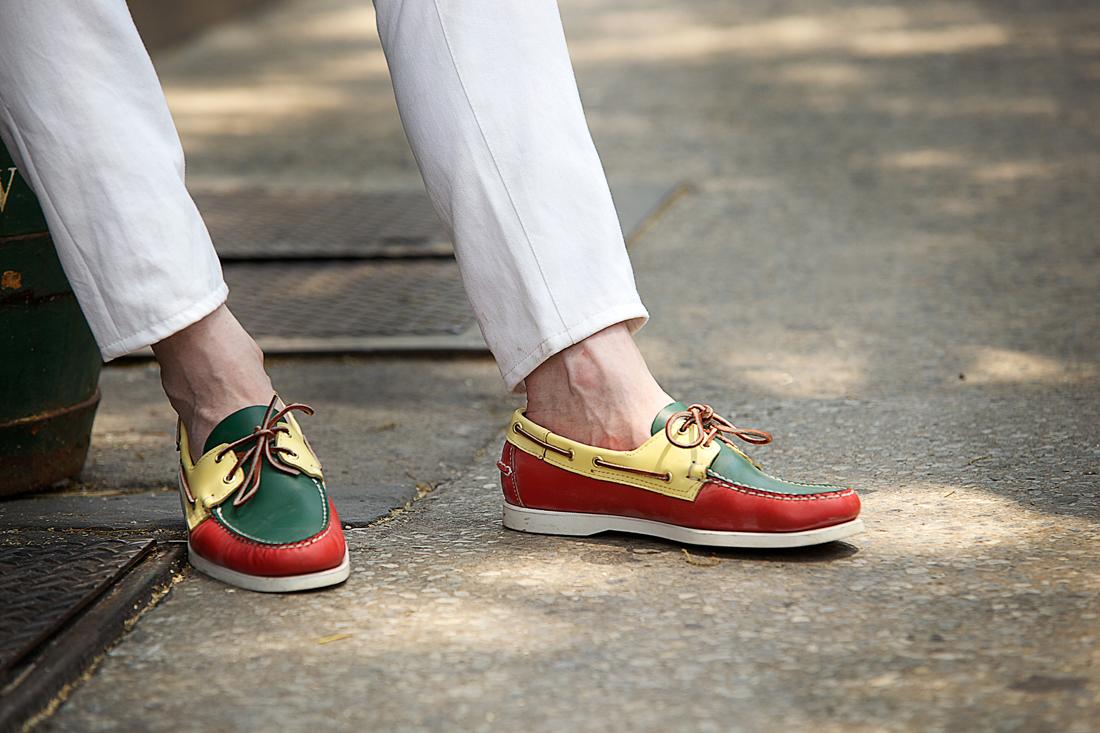 Men s Trend: Shoes Sans Socks