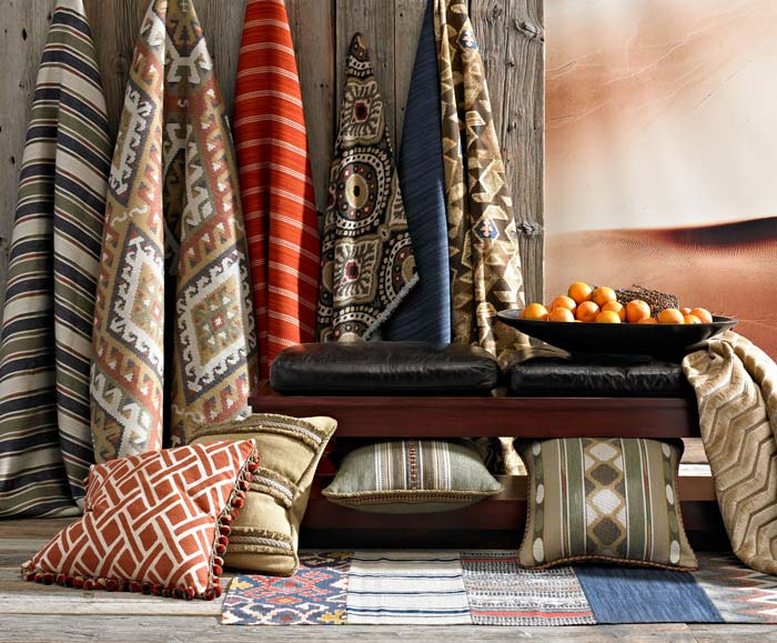 Kravet Couture Nomad Chic Fabric Collection