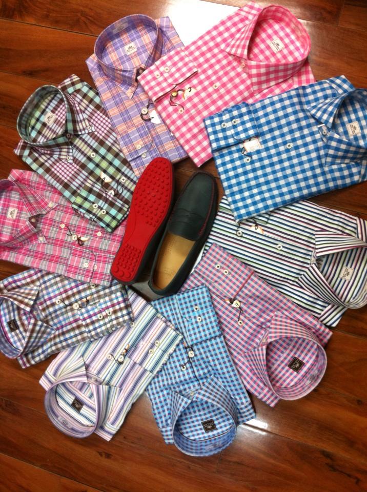 Carolina STYLE Fall STYLE in the Carolinas Gentlemens Corner Shirts