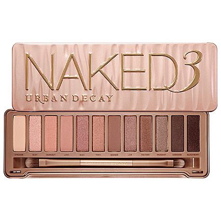URBAN DECAY Naked3 $52.00 Photo Credit: Sephora.com