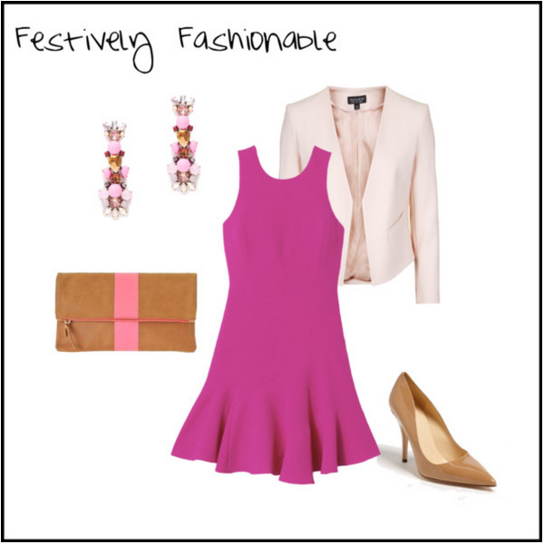 Valentine's Day Outfit | Festively Fashionable