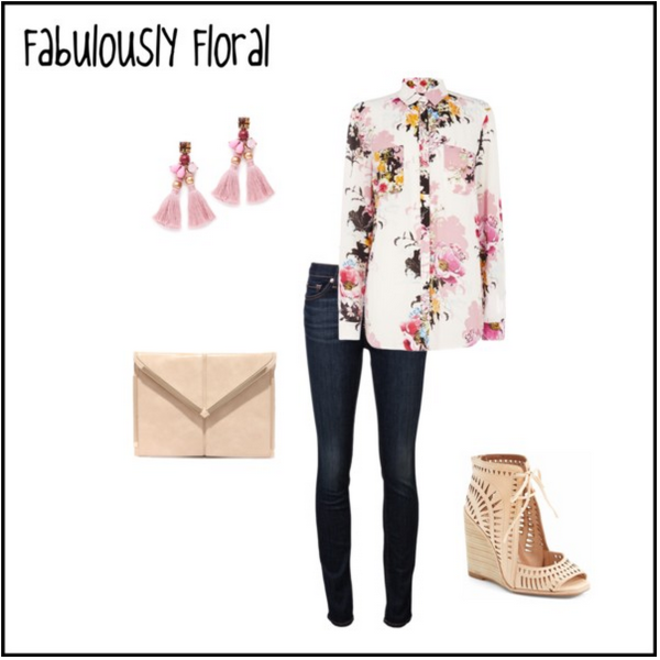 Valentin's Day Outfit | Fabulously Floral