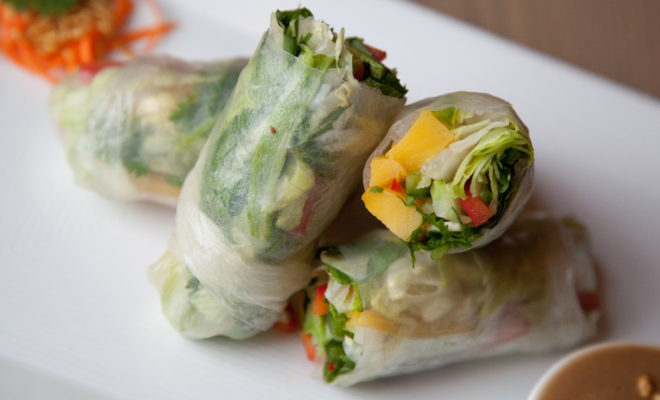 Photo: Mango Summer Rolls at CO